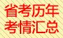 2017年浙江省省考历年考情考况汇总!